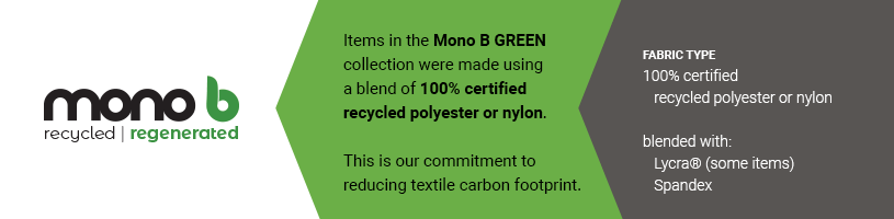 Mono B GREEN, eco-friendly activewear and athleisure